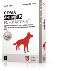 Boxshot G DATA ANTIVIRUS for Mac
