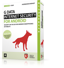 Boxshot G DATA INTERNET SECURITY for Android