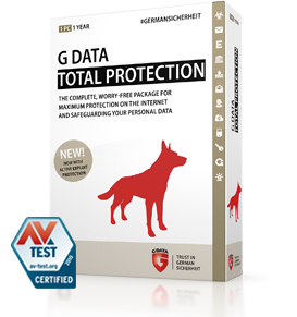 Boxshot G DATA TOTAL PROTECTION