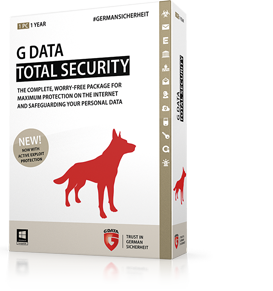 Boxshot G DATA TOTAL SECURITY