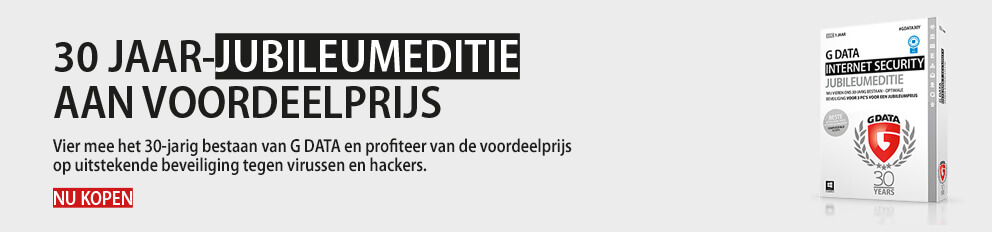 G DATA INTERNET SECURITY JUBILEUMEDITIE